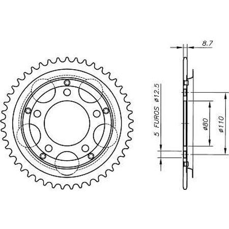 Coroa-Temperada-sem-Capa-HONDA-CBX750F-1984-A-2003-HA11.145S-VAZ-Connect-Parts-2