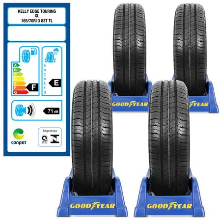 Kit-Pneu-Aro-13-Goodyear-Edge-Touring-165-70r13-83t-4-Unidades-connect-parts--1-
