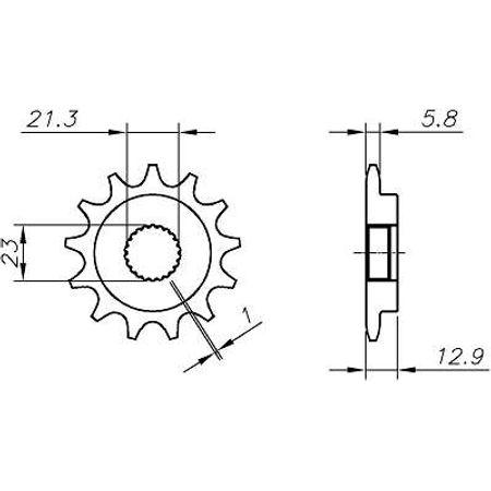 Pinhao-Yamaha-Yfs250-Fazer-520-2005-a-2008-YB15.414-VAZ-Connect-Parts-2