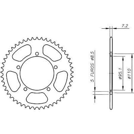 Coroa-Temperada-Agrale-Sxt125-Todos-os-Anos-AA01.147T-VAZ-Connect-Parts-2