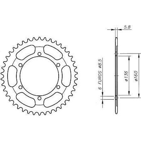 Coroa-Temperada-Aprilia-Wind600-1986-a-1991-CA02.150T-VAZ-Connect-Parts-2