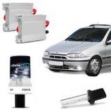Kit-Lampada-Xenon-para-Farol-de-milha-Fiat-Palio-Weekend-1996-a-1998-h1-6000k-12v-35W--connectparts---1-