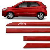 Jogo-de-Friso-Lateral-Ka-Hatch-Sedan-2014-a-2018-Vermelho-Arpoador-Modelo-Facao-connectparts---1-