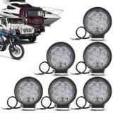 Kit-6x-Farol-de-Milha-Redondo-Universal-27W-9-LEDs-6000K-Branco-Carro-Moto-Caminhao-Jeep-connectparts--1-