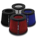 Filtro-de-Ar-Esportivo-Tunning-DuploFluxo-Monster-85mm-Conico-Lavavel-Shutt-Base-Borracha-Potencia-connectparts---1-