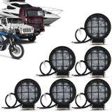 Kit-6x-Farol-de-Milha-LED-Redondo-Grade-Protecao-27W-3x9W-Carro-Caminhao-Jeep-Off-Road-Universal-connectparts--1-