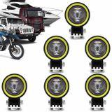 Kit-6x-Farol-de-Milha-Circular-LED-6000K-10W-com-Angel-Eyes-Universal-Carro-Moto-Caminhao-Jeep-connectparts---1-