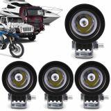 Kit-4x-Farol-de-Milha-LED-Carro-Moto-Caminhao-Jeep-Off-Road-10W-Universal-Redondo-Preto-connectparts---1-