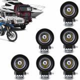 Kit-6x-Farol-de-Milha-LED-Carro-Moto-Caminhao-Jeep-Off-Road-10W-Universal-Redondo-Preto-connectparts---1-