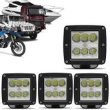 Kit-4x-Farol-de-Milha-LED-Quadrado-24W-Carro-Moto-Caminhao-Jeep-Off-Road-6x4W-Universal-Preto-connectparts---1-