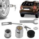 Trava-Antifurto-Estepe-Renault-Duster-2011-A-2018-com-Chave-Tetra-connectparts---1-
