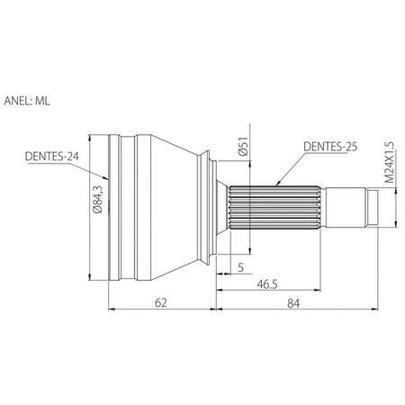 Junta-Homocinetica-Fiat-Punto-HLX-Sporting-1.8-8V-Stilo-1.8-8V-Linea-1.9-16V-Sem-ABS-Ponteira-Vetor-connectparts---1-