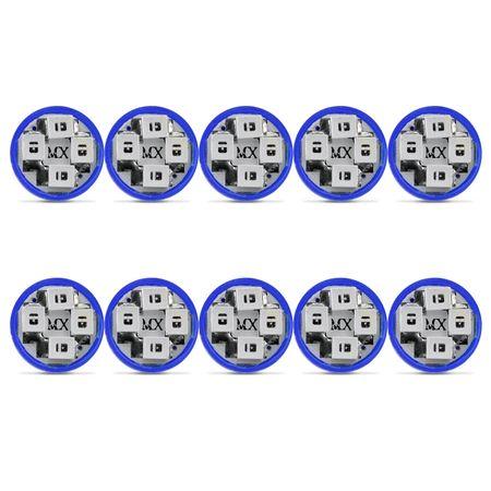 10-Lampadas-Led-Esmagada-Azul-T10-Hi-Power-4-Leds-12v-connectparts---1-