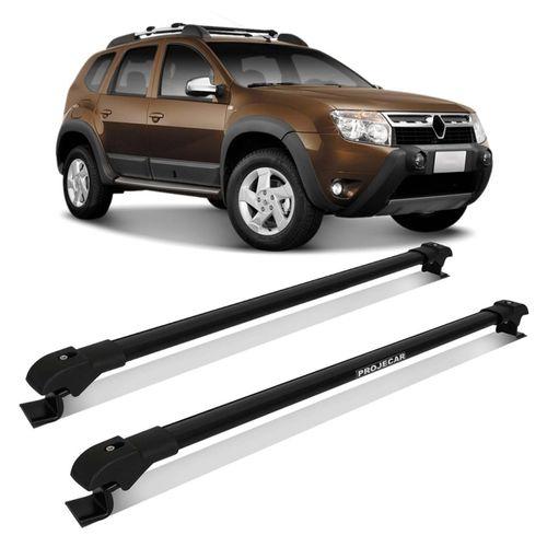 Rack-de-Teto-Renault-Duster-12-a-15-Preto-Carga-45-Kg-Em-Aluminio-Resistente-Travessa-Slim-connectparts