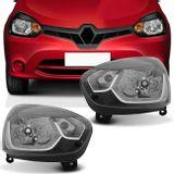 Farol-Clio-Renault-13-14-15-16-Mascara-Negra-Foco-Simples-connectparts--1-