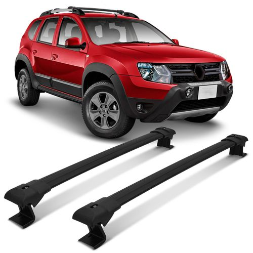 Rack-de-Teto-Travessa-Larga-Renault-Duster-2016-a-2018-Preto-Suporte-45KG-2-Pecas-connectparts--1-