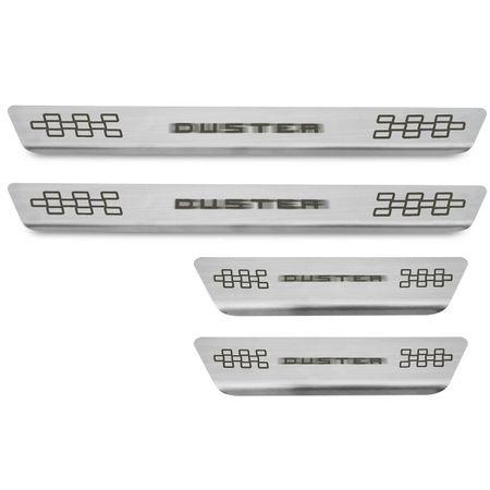 Kit-Soleira-Aco-Inox-Curvada-Duster-2011-a-2018-Escovado-Grafia-Marrom-4-Pecas-Excelente-Fixacao-connectparts--1-