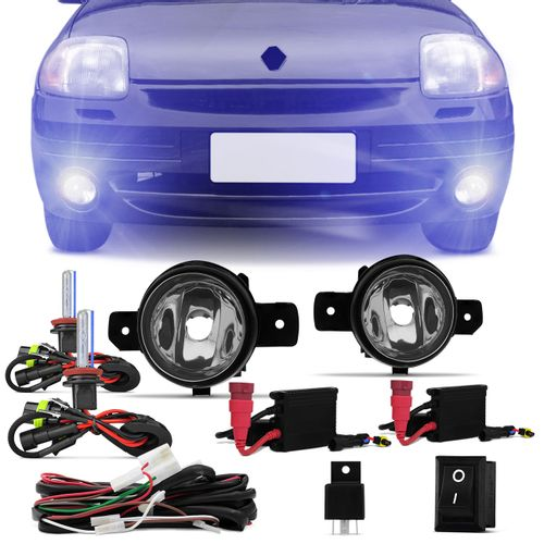Kit-Farol-de-Milha-Clio-03-04-05-06-07-08-09-10-11-12---Kit-Xenon-H11-8000K-connect-parts--1-