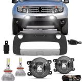 Kit-Farol-de-Milha-Duster-2012-a-2015---Overbumper-Duster-Cinza-Prata---Kit-Super-LED-3D-H11-6000K-connectparts---1-