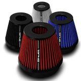 Filtro-de-Ar-Esportivo-Tunning-DuploFluxo-100mm-Conico-Lavavel-Shutt-Base-Borracha-Maior-Potencia-connectparts---1-