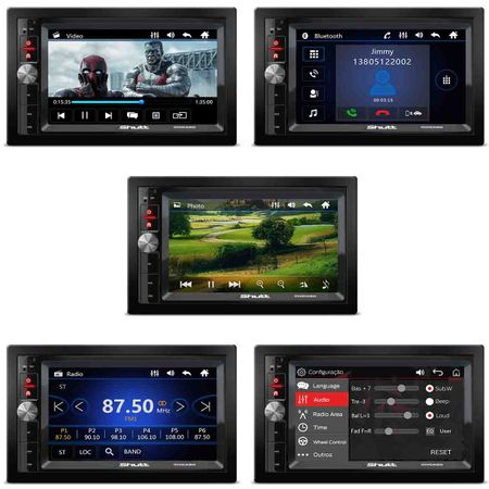 Dvd-Player-Shutt-Chicago-Bluetooth-Usb-Sd-Radios-Fm-Am-Aux-Entrada-Camera-de-Re-connectparts---1-