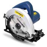 Serra-Circular-Manual-Hammer-GYSC1100-para-Madeira-7-1-4-Polegadas-1100W-127V-Azul-e-Preto-connectparts---1-
