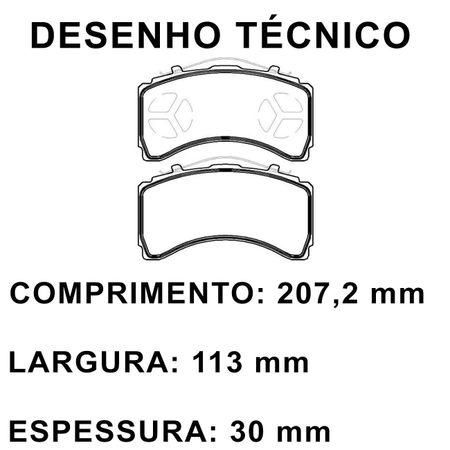 Pastilhas-De-Freio-Traseira-Mercedes-Benz-Actros-2010---Eco1549-connectparts---2-