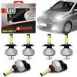 Kit-Lampadas-Super-LED-Nissan-March-Farol-Alto-H4-Baixo-H4-e-Milha-H11-6000-Lumens-connectparts---1-