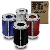Filtro-de-Ar-Esportivo-Tunning-DuploFluxo-Alto-62-72mm-Conico-Lavavel-Shutt-Base-Cromada-Potencia-connectparts---1-
