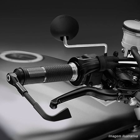 Par-Espelho-Retrovisor-Mini-DT-200-Capa-Preta-Haste-Dobra-90°-Cromada-Universal-Rosca-Padrao-Honda-connectparts---5-