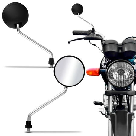 Par-Espelho-Retrovisor-Mini-DT-200-Capa-Preta-Haste-Cromada-Universal-Rosca-Padrao-Honda-connectparts---1-