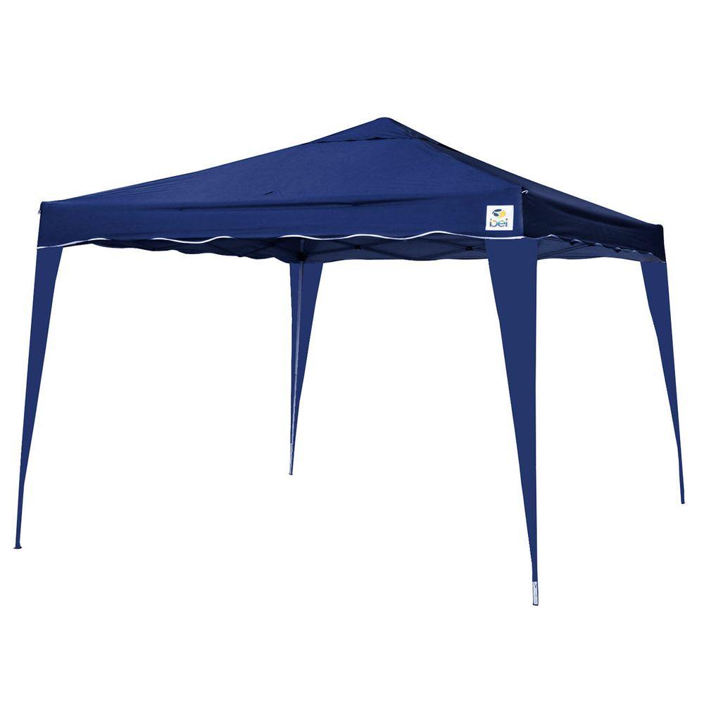 Tenda-Gazebo-Dobravel-Sanfonada-3X3-Aluminio-Poliester-Azul- fc14e2f9b4