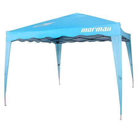 Tenda-Gazebo-MORMAII-Dobravel-Sanfonada-3X3-Azul-Turqueza-Revestimento-Silver-Coating-Com-Sacola-connectparts---1-