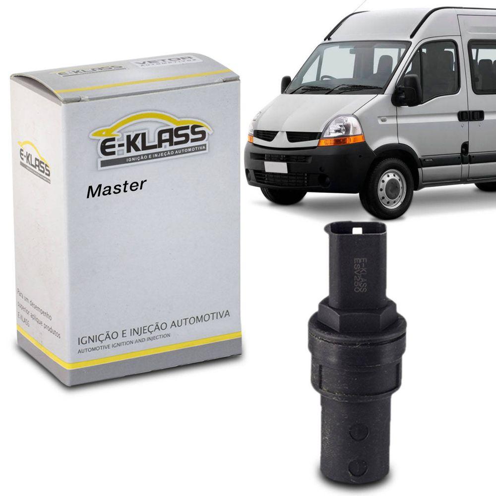 Sensor De Velocidade VSS Renault Master 2 5 2005 A 2013 Sem Tacógrafo Vetor  ESV250