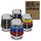 Filtro-de-Ar-Esportivo-Tunning-MonoFluxo-52mm-Conico-Lavavel-Especial-Shutt-Base-Cromada-Potencia-connectparts---1-