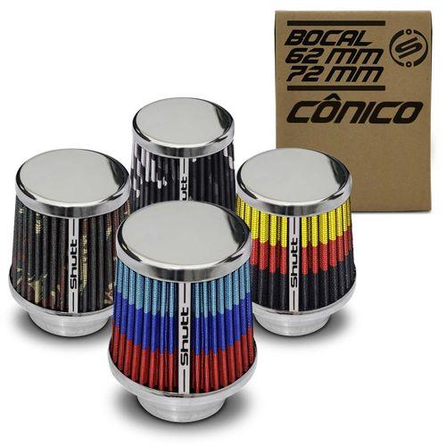 Filtro-de-Ar-Esportivo-Tunning-MonoFluxo-72mm-Conico-Lavavel-Especial-Shutt-Base-Cromada-Potencia-connectparts---1-