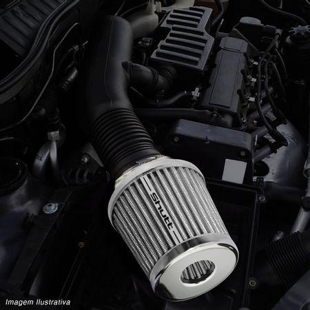 Filtro-de-Ar-Esportivo-Tunning-DuploFluxo-52-62mm-Conico-Lavavel-Shutt-Base-Cromada-Maior-Potencia-connectparts---5-