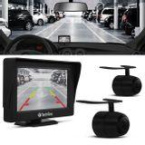 Kit-Monitor-4.3-Pol-com-Camera-de-Re-Borboleta-Frontal-e-Traseira-Tech-One-connectparts---1-