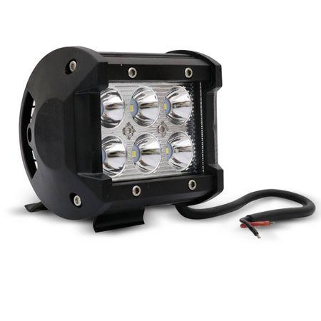 Kit-6x-Farol-de-Milha-Quadrado-18W-Universal-6x3W-LEDs-6000K-Carro-Moto-Caminhao-Jeep-connectparts---2-