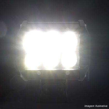 Kit-6x-Farol-de-Milha-Quadrado-18W-Universal-6x3W-LEDs-6000K-Carro-Moto-Caminhao-Jeep-connectparts---5-