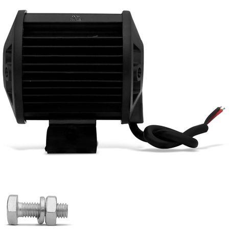 Kit-2x-Farol-de-Milha-Quadrado-18W-Universal-6x3W-LEDs-6000K-Carro-Moto-Caminhao-Jeep-connectparts---4-