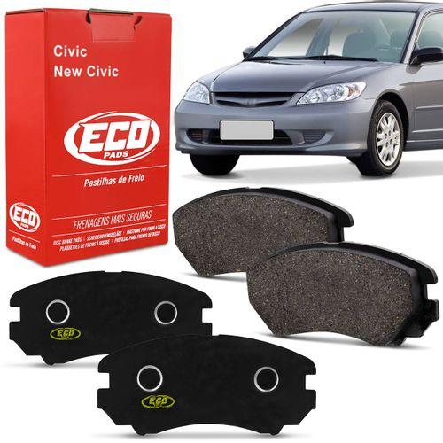 Pastilhas-De-Freio-Dianteira-Honda-Civic-Ex-Lx-Lxb-New-Civic-connectparts---1-