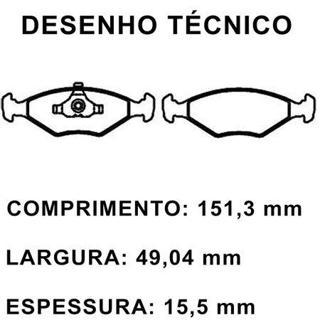 Pastilhas-De-Freio-Dianteira-Volkswagen-Gol-G3-Parati-Saveiro-connectparts---2-