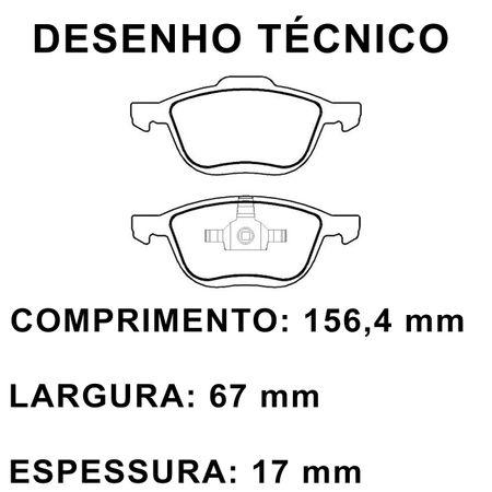 Pastilhas-De-Freio-Dianteira-Ford-Ecosport-Focus-Hatch-Sedan-Volvo-C30-C70-S40-V50-connectparts---2-