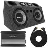 Caixa-de-Som-Automotivo-Completa-1180W-RMS-Subwoofer-12-Pol---Tweeter---Corneta---Modulo-Taramps-Connect-Parts--1-
