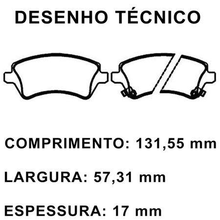 Pastilhas-De-Freio-Dianteira-Toyota-Corolla-Xli-Xei-Fielder-Sw-connectparts---2-