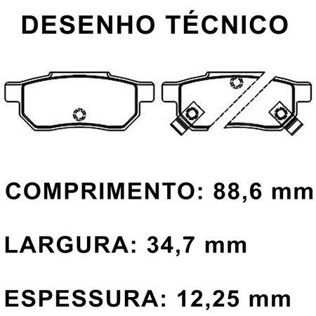 Pastilhas-De-Freio-Traseira-Honda-City-Civic-3-4-Concerto-Prelude-3-City-Sport-Fit-Twist-connectparts---1-