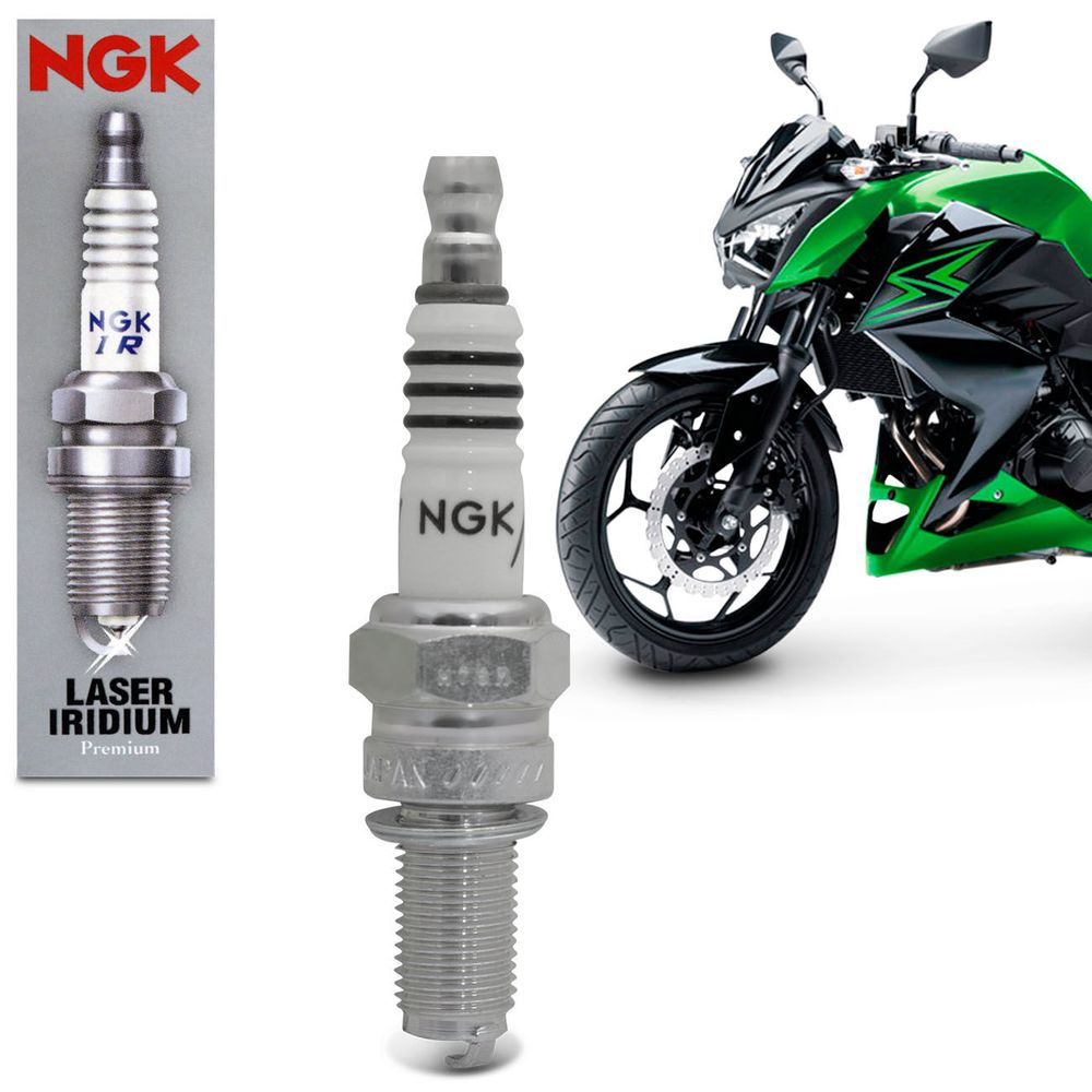 Vela De Ignição Iridium Ix Ngk Cr8eix Moto Connect Parts