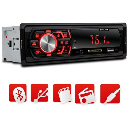 MP3-Player-Automotivo-Shutt-Denver-BT-1-Din-Bluetooth-Auto-Radio-USB-AUX-SD-Card-FM-Display-LED-connectparts---2-