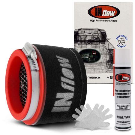 Filtro-De-Ar-Esportivo-Duplo-Fluxo-4-Hpf9913-Inflow-Universal-Preto-E-Vermelho-Com-Logomarca-Branca-connectparts---1-